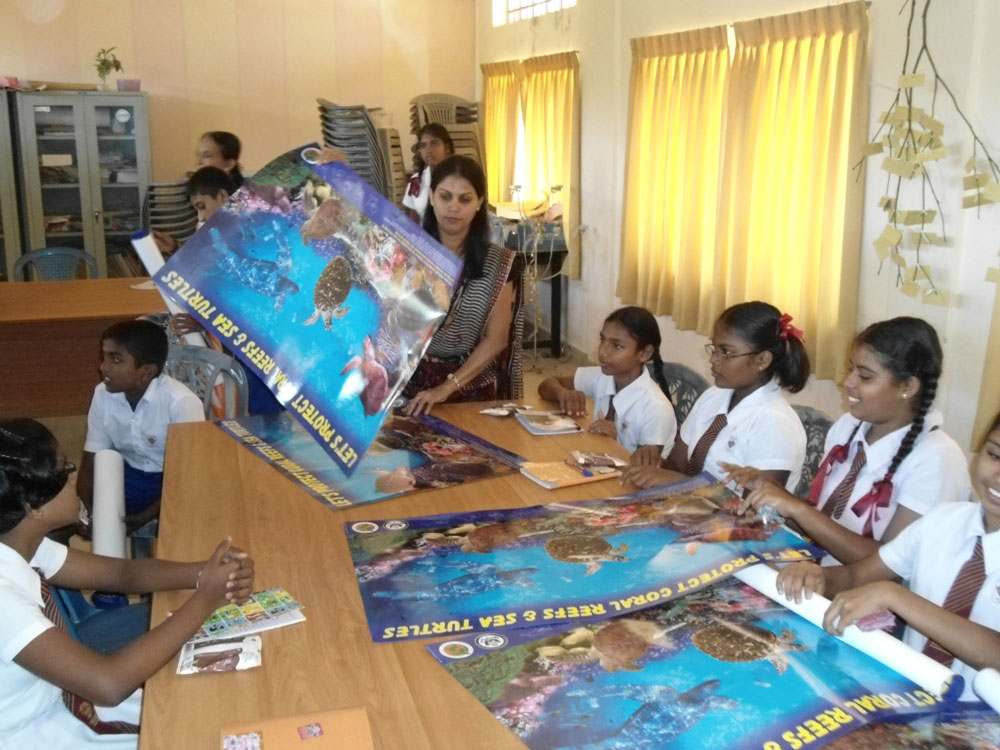 education awareness turtle conservation project tcp of sri lanka